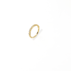 GOLDEN BEAD RING