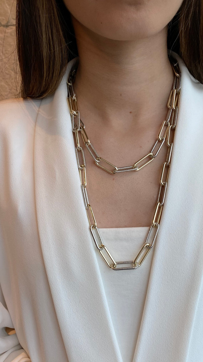 CAPRI DUO LONG NECKLACE
