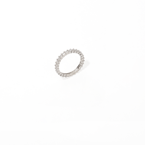 INFINITY SPARK SILVER RING