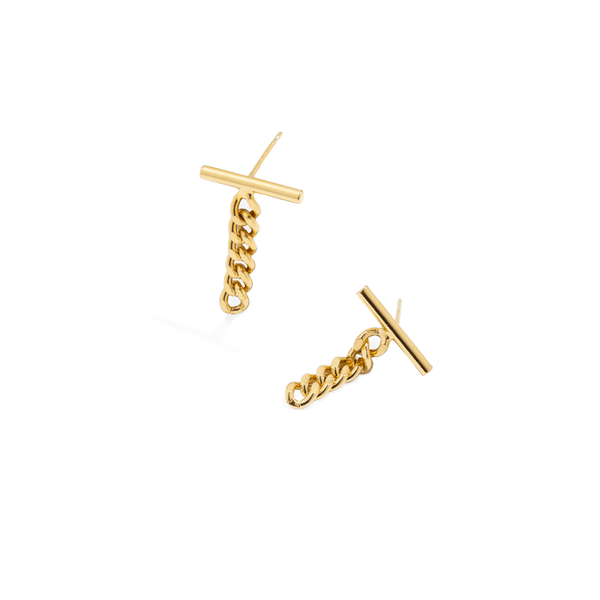 LAZARE BAR EARRINGS