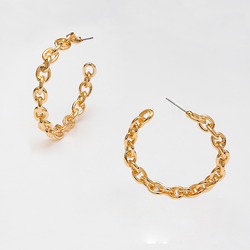 LOOP MEDIUM HOOPS