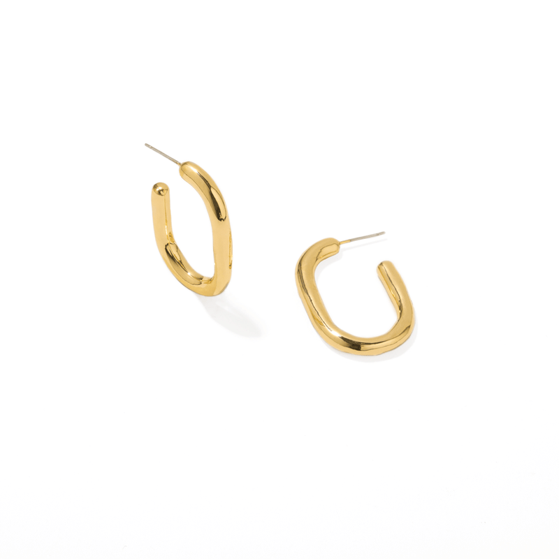 OVAL SQUARE HOOPS