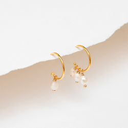 PACIFICA PEARL HOOPS