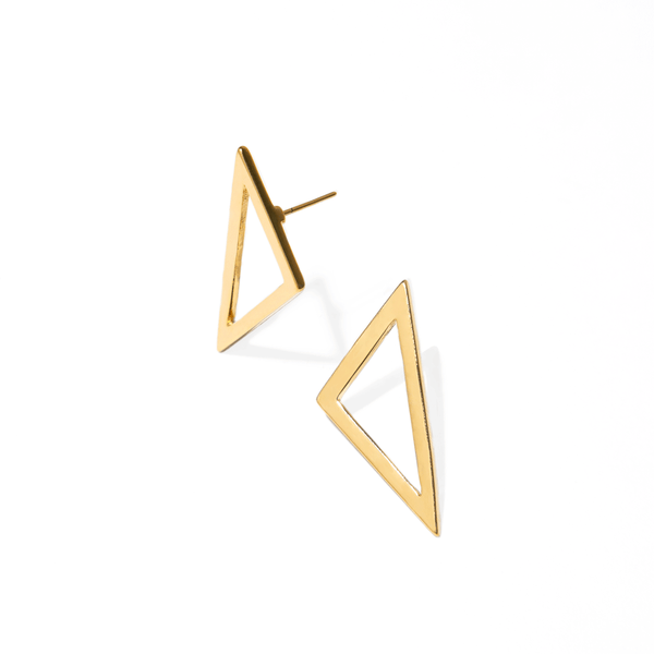 SCALENE GOLDEN EARRINGS