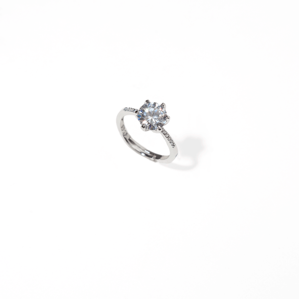 SOLITAIRE ZIRCONIA RING