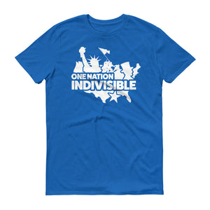 """One Nation"" Indivisible Movement America Short Sleeve T-Shirt"