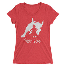 """Fearless Girl"" Ladies' Short Sleeve T-Shirt"