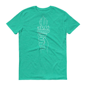"""Resist"" Torch Short sleeve t-shirt"
