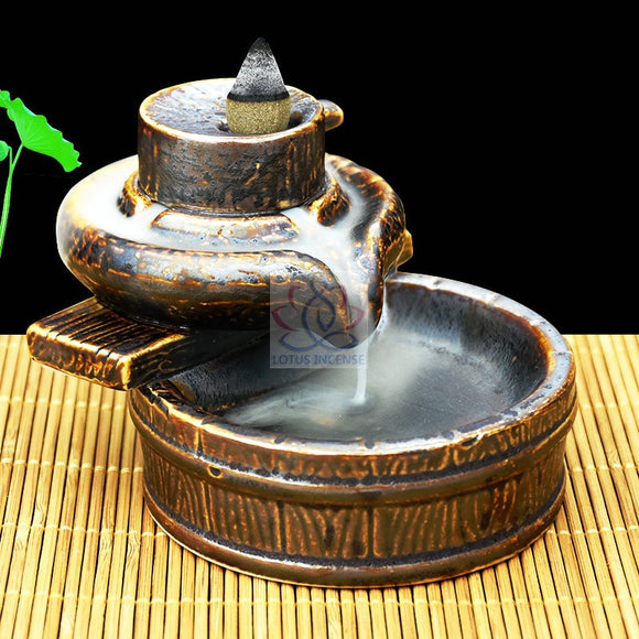 Backflow Incense Burners & Cones Collection