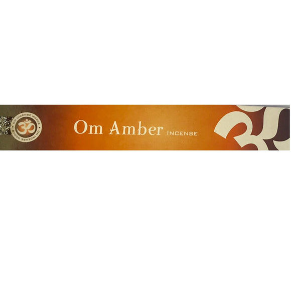 Om Amber Incense Sticks - Mary's Naturals
