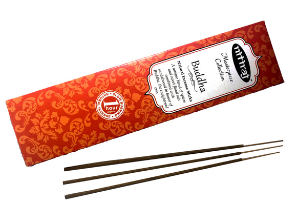 Nitiraj Buddha Natural Incense Sticks - Mary's Naturals®