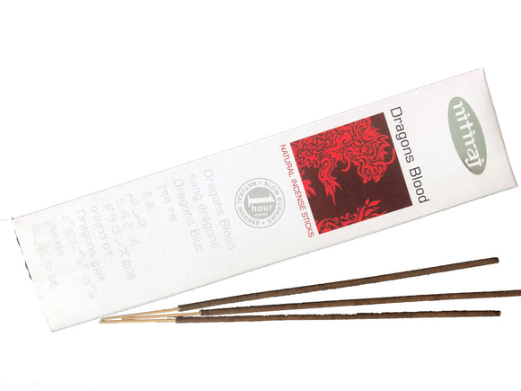 Nitiraj Dragon's Blood Indian Incense - Mary's Naturals®