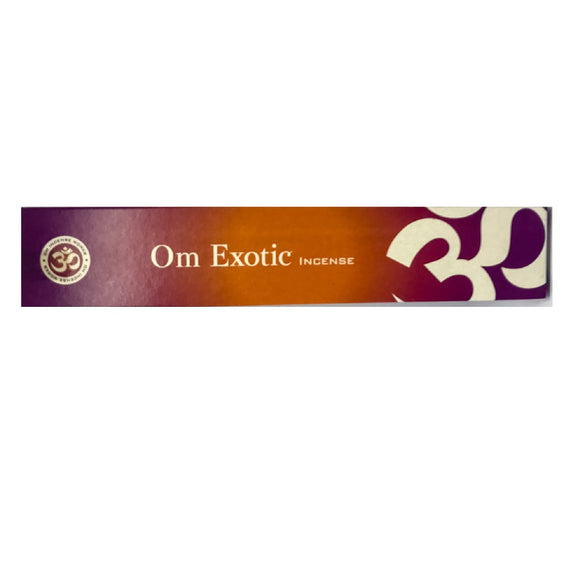 Om Exotic Incense Sticks - Mary's Naturals