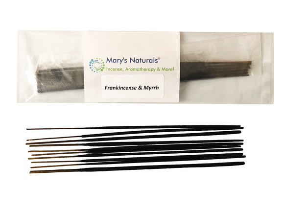 Mary's Naturals® Extra Long Incense Sticks - frankincense and myrrh