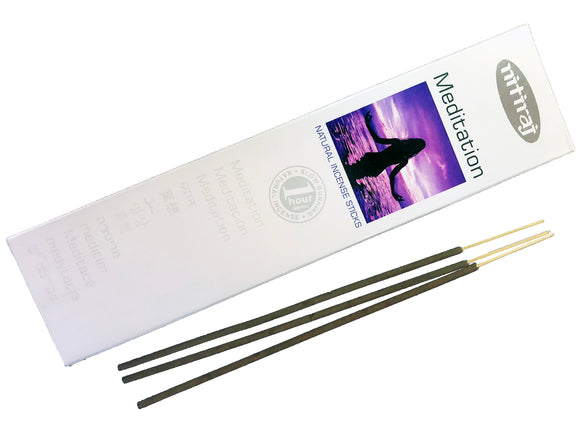 Nitiraj Premium MEDITATION Natural Incense Sticks 25 grams - Mary's Naturals®
