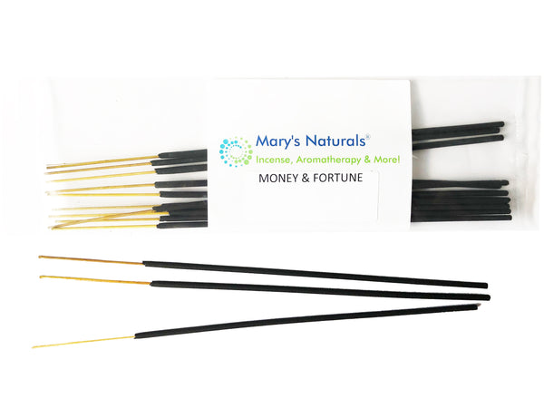 MARY'S NATURALS® Extra Long Incense Sticks - Money & Fortune