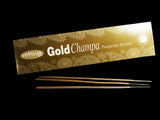 Nitiraj Gold Champa Prosperity Incense Sticks - Mary's Naturals®