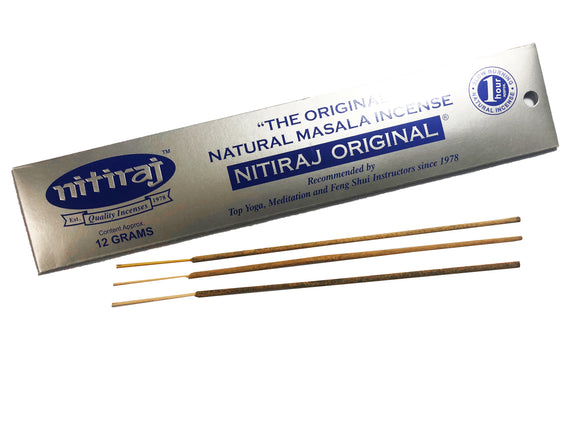 Nitiraj Original incense sticks from Mary's Naturals®