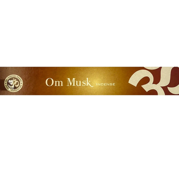 Om Musk Incense Sticks - Mary's Naturals