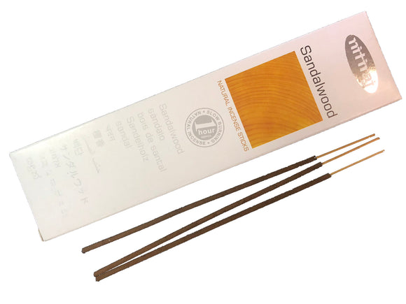 Nitiraj Platinum Sandalwood Incense Sticks 25 Grams Box - Mary's Naturals®