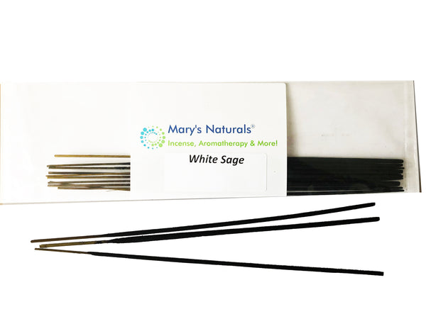 MARY'S NATURALS® Extra Long Incense Sticks - White Sage