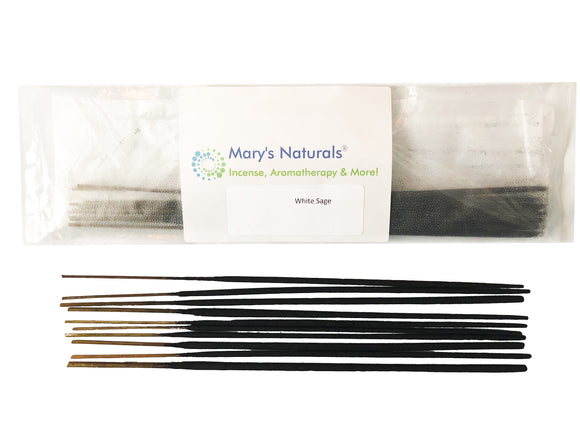MARY'S NATURALS® Extra Long Incense Sticks - White Sage - Mary's Naturals®