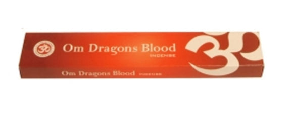Om Dragons Blood Incense - Mary's Naturals