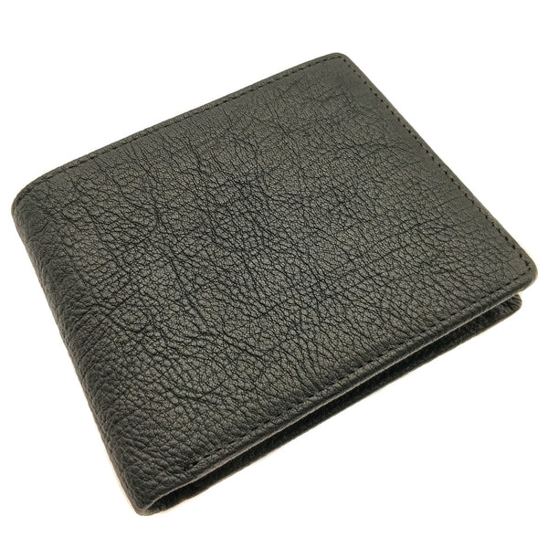 The Ninja Co. Top Grain Leather Billfold Coin Wallet