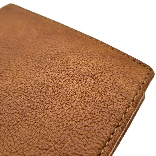 The Ninja Co. Coin Pocket Wallet - Natural Leather