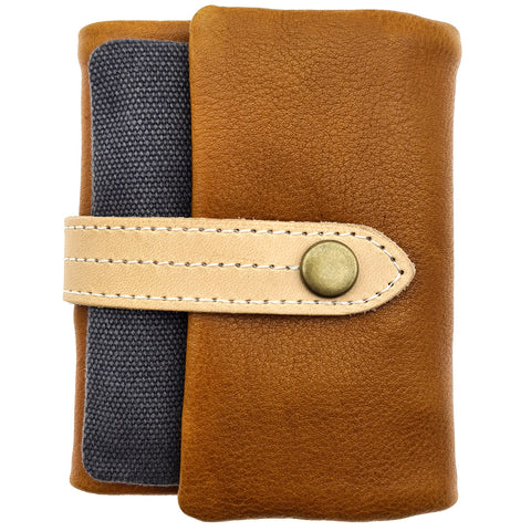 The Ninja Co. Coin Pouch Wallet - Natural Leather