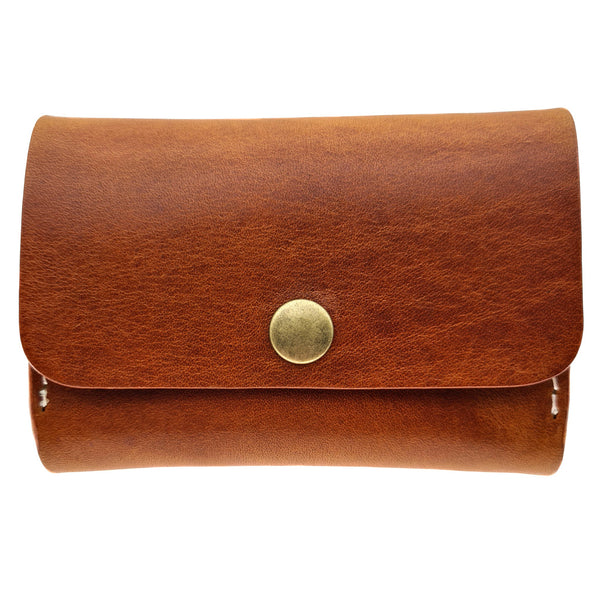 Billfold Card Wallet - Italian Natural Leather - NJ 8857