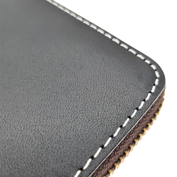 The Ninja Co. Compact Zipper Wallet - Italian Leather