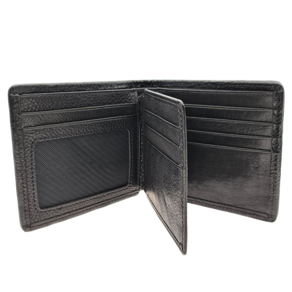 The Ninja Co. Billfold Woven Wallet - Natural Leather - NJ 8867