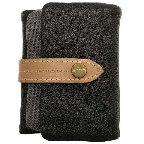 The Ninja Co. Billfold Coin Pouch Wallet - Natural Leather - NJ 8856