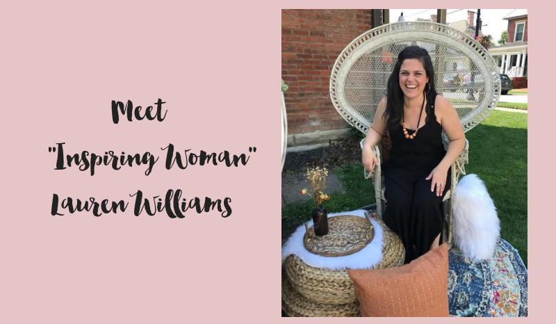 Inspiring Woman: Lauren Williams