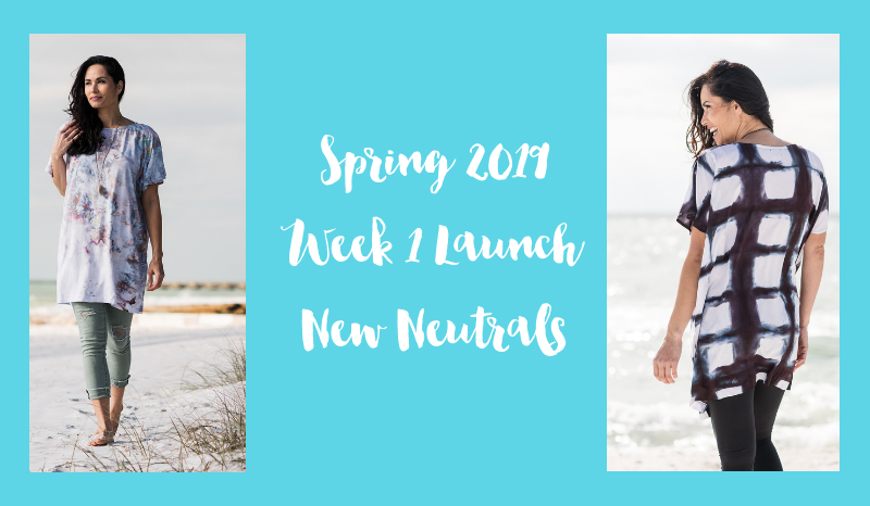 Spring 2019 Week 1 Launch -  New Neutrals