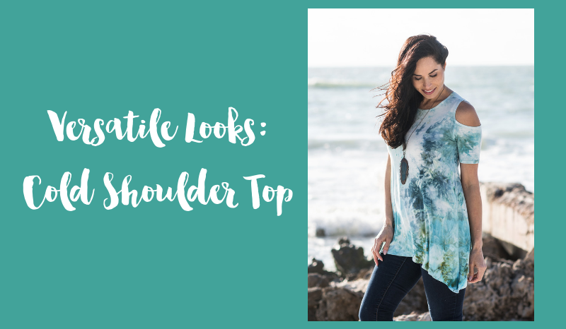 Versatile Looks: Cold Shoulder Top