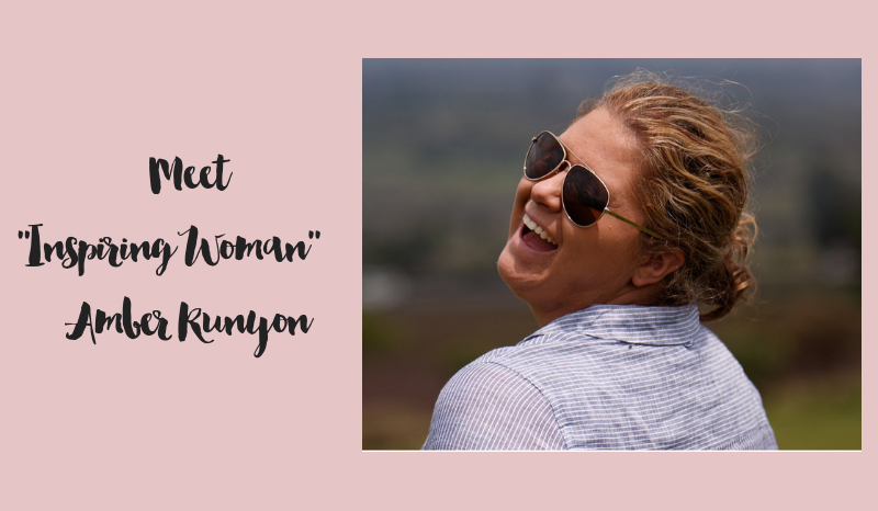 Meet Inspiring Woman: Amber Runyon