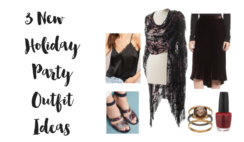 3 New Holiday Party Outfit Ideas