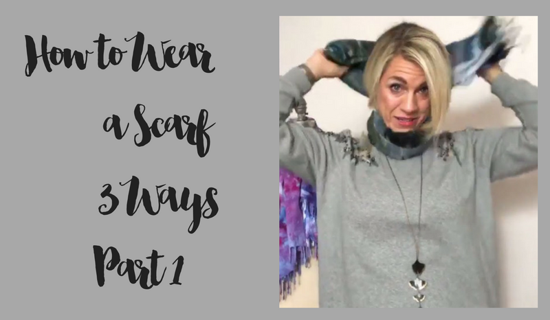 How to Wear a Scarf 3 Different Ways - Part 1
