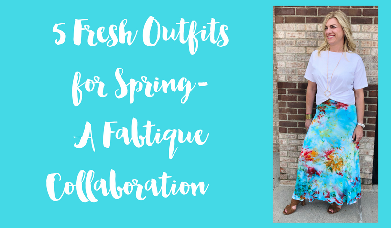 5 Fresh Outfits for Spring! A Fabtique Collaboration