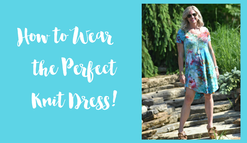 How to Wear the Perfect Knit Dress