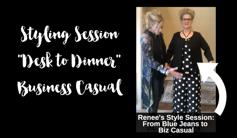 Style Session- From Blue Jeans to Business Casual