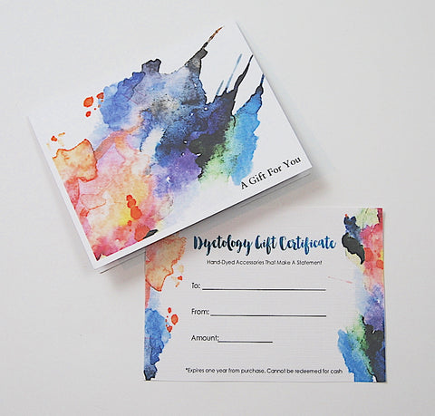 Dyetology Gift Card