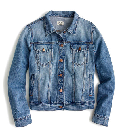 denim jacket by JCrew