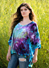 Dyetology Monet's Garden Easy Rayon Shirt