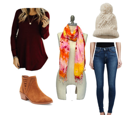 3 outfits that will cure the winter blues