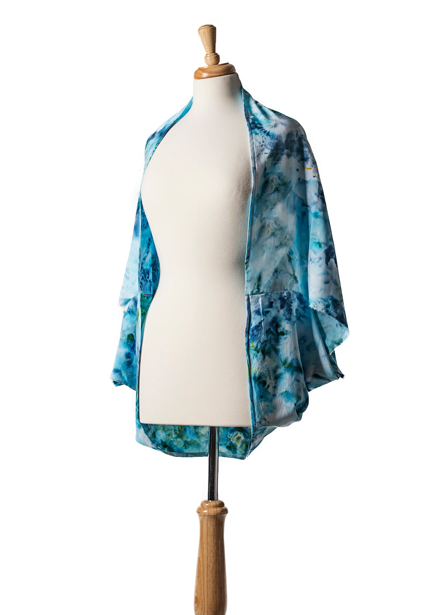 Aquarius Rayon Shawl Scarf - Shawl - Dyetology