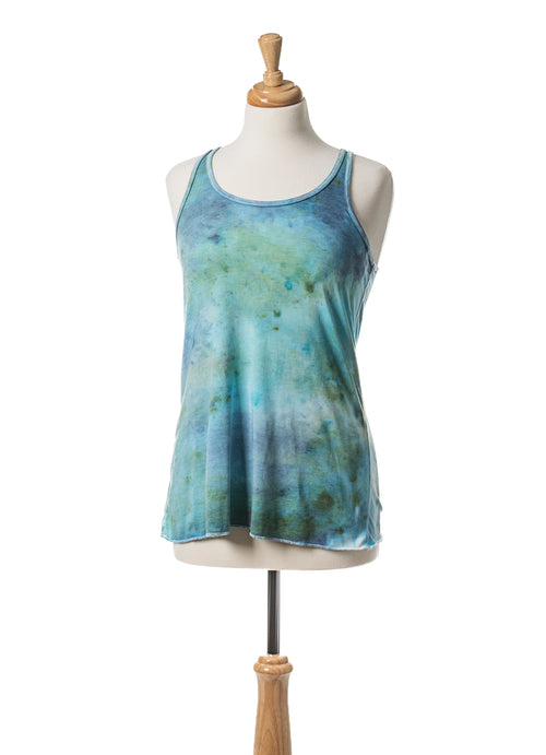 Aquarius Flowy Tank Top - Top - Dyetology
