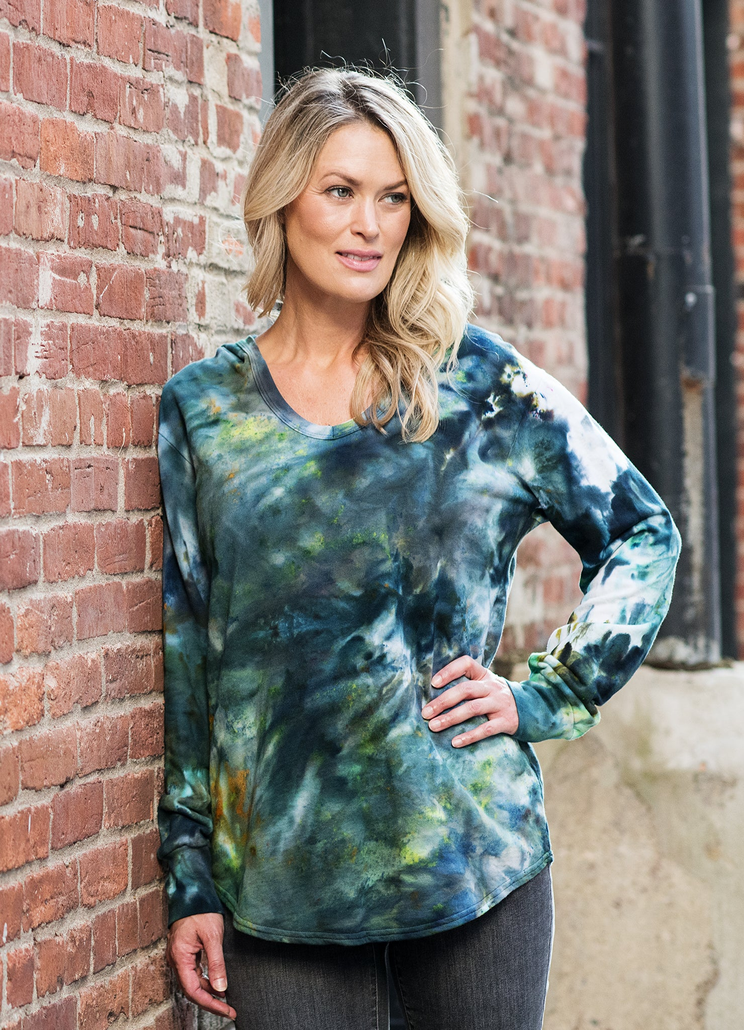 Pop Over Hoodie in Woodland Camo- Limited Edition - Top - Dyetology